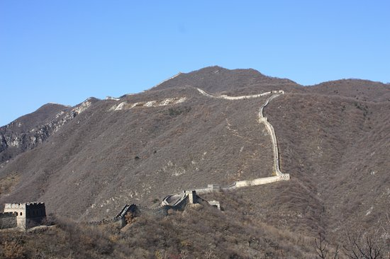 Chinese Muur: It got a bit steep for me
