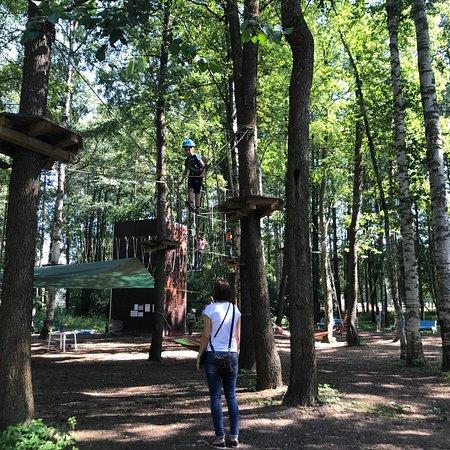 Веревочный парк Город мечты