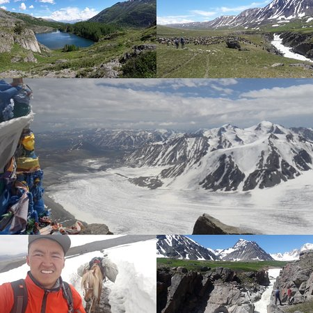 Sayat Travel: Altai mountain cross 10days by foot