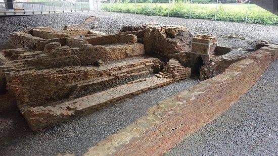 Oberhausen, Tyskland: Excavations