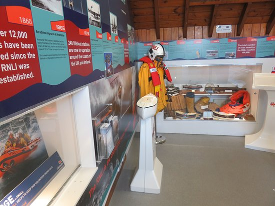 Anstruther Lifeboat Station: display area