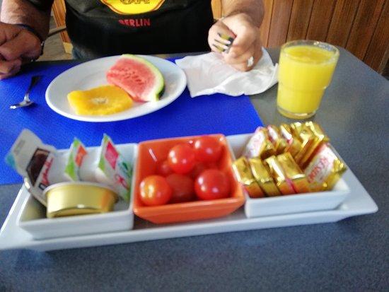 Hotel Record: parte del desayuno