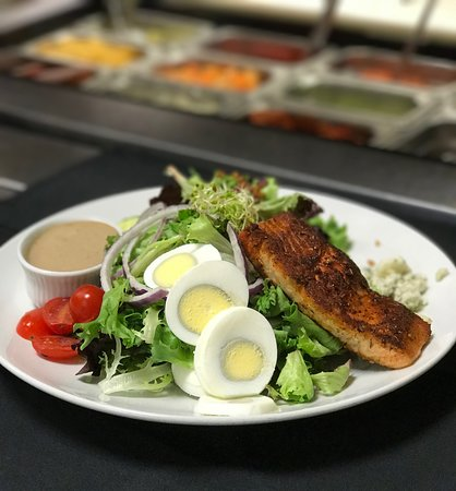 310 Park South: Cobb Salad with Salmon