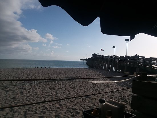 Sharky's On the Pier: View from our table