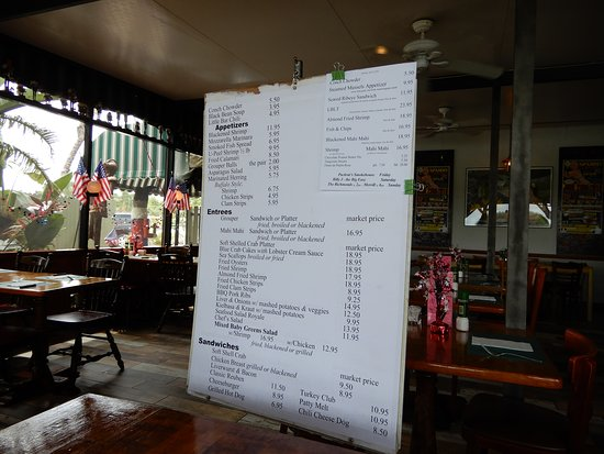 Little Bar Restaurant: menu