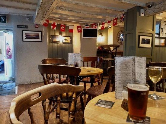 Newlands Valley, UK: Swinside Inn inside