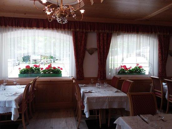 Malga Ciapela, Italie : Ristorazione interna all'hotel