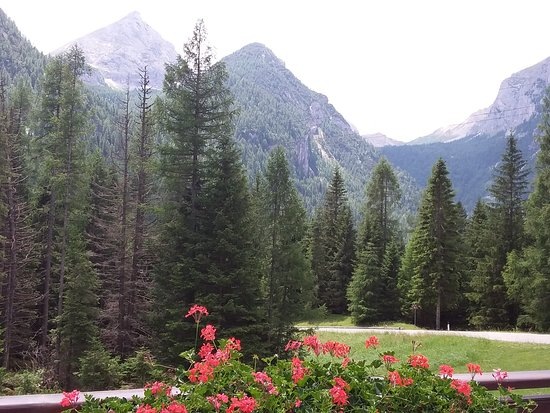 Malga Ciapela, Italie : Panorama