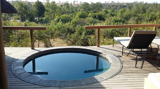 Londolozi Private Game Reserve, South Africa: Room Veranda/ Balcony/ Splash Pool
