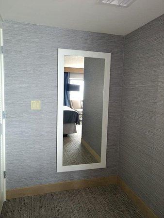 Tropicana Atlantic City Full Length Mirror In Master Bedroom