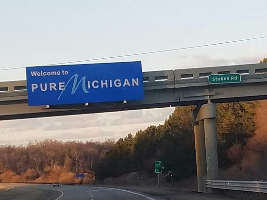 Holiday Inn Express St. Joseph: welcome to Michigan