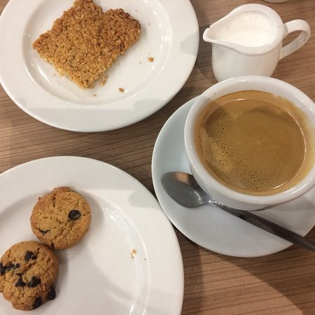 Coffee & biscuit Combo at Dominiques Express