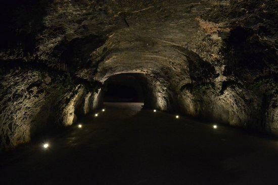 Hinterbruhl, Austria: SEEGROTTE - bývalý sádrovcový důl