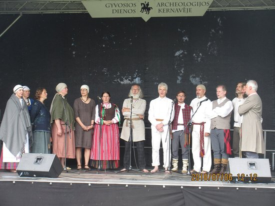 Kernave, Lithuania: Concert of traditional songs