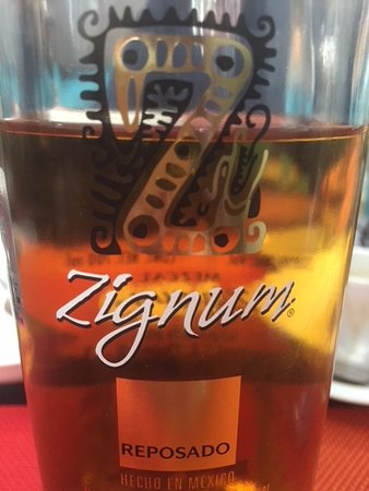 Niña Bonita Cantina: Zignum tequila