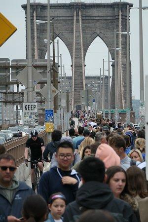 布鲁克林大桥照片