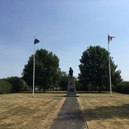 Excellent memorial to brave men.