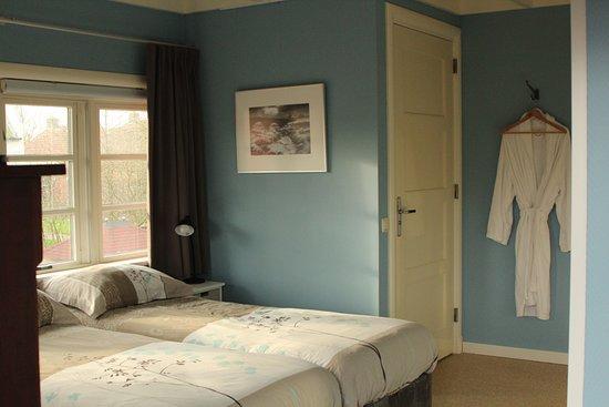 Vierhuizen, The Netherlands: Kamer 't Wad (2persoonsbed of 2 enkele bedden)