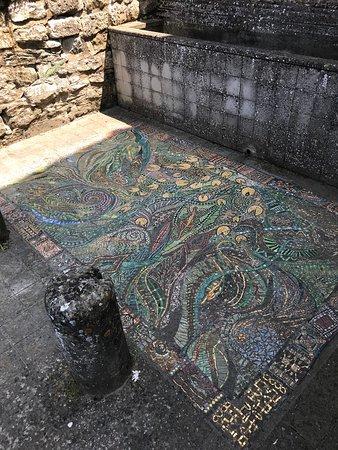 Sant'Agata Feltria, Itália: Mosaico