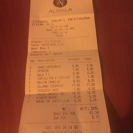Restaurante Albalá Foto