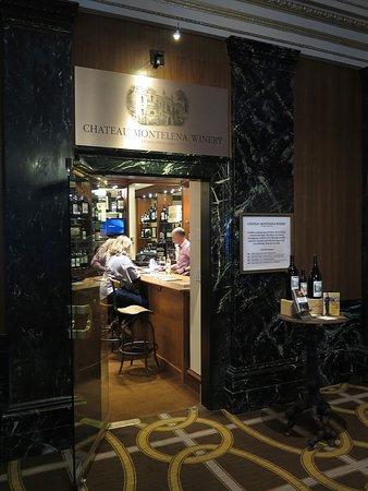 Chateau Montelena Winery: Château Montelena - Lobby of the Westin St Francis Hotel, San Francisco - Lobby Entrance