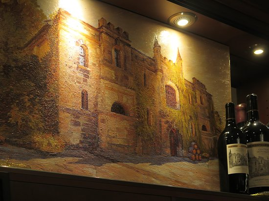 Chateau Montelena Winery: Château Montelena - Lobby of the Westin St Francis Hotel, San Francisco