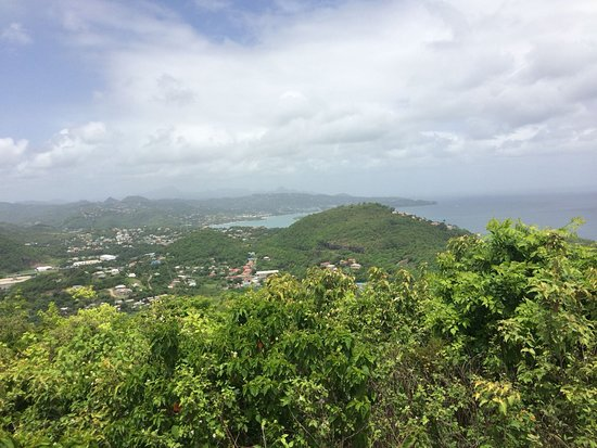 Rodney Bay, St. Lucia: Top view