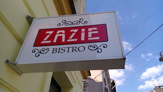 Zazie Bistro: Wejście.