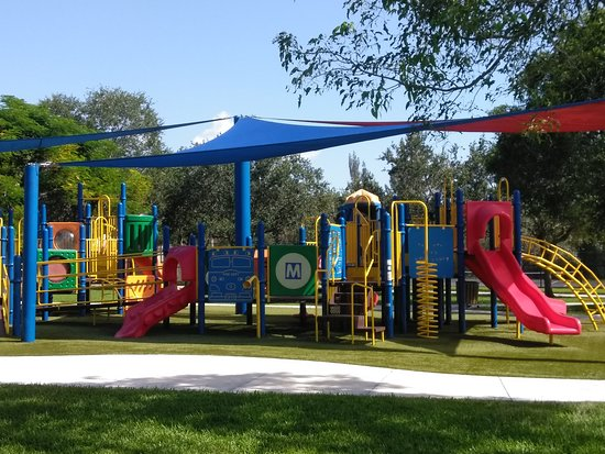 Markham Park: playground