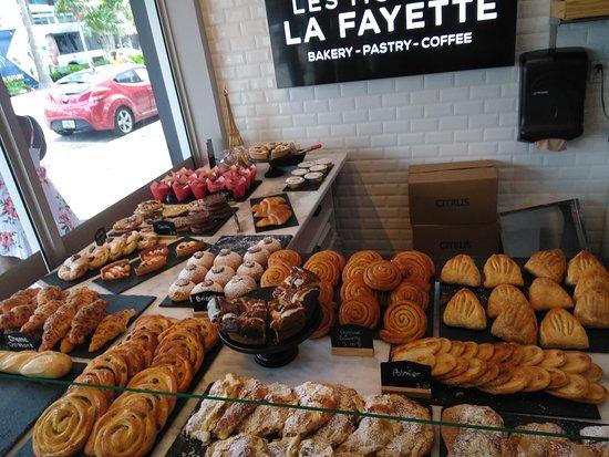 Les Moulins La Fayette: bread