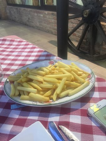 Ristorante Al Mulino: Ottime patatine fritte