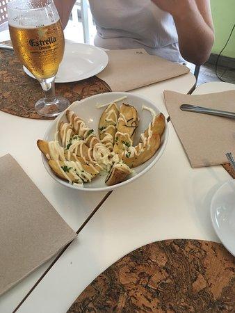 La Crispeta: Patatas alioli