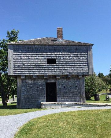 St. Andrews Blockhouse: Blockhouse Exterior