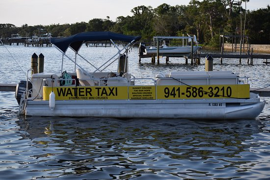 Casey Key Water Taxi: Tikibar hopping on the water taxi just made your day a whole lot better!