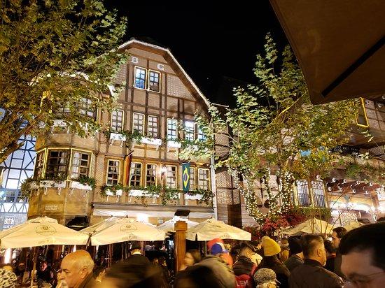 Choperia Baden Baden: Um lugar agradavél e sempre legal para tirar fotos