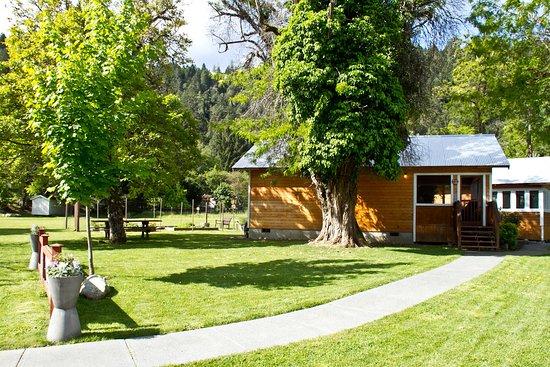 Coho Cottages : Fish Camp exterior