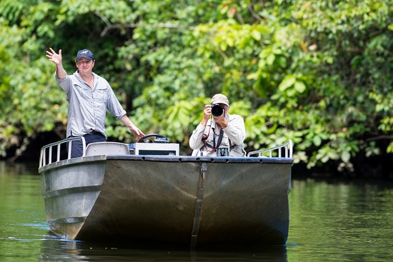 Daintree, Australia: The Boatman at work