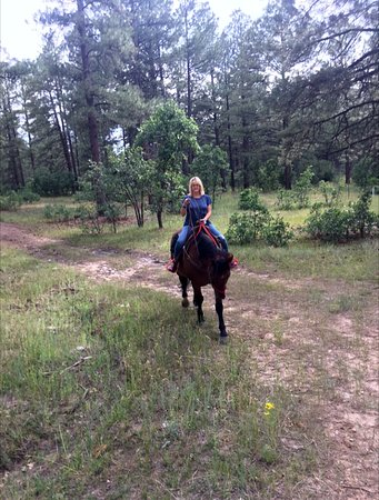 Fishtail Ranch: horseback riding in nature is the best