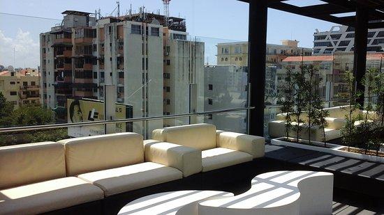 Holiday Inn Santo Domingo: Área de la piscina (Vista de la Ciudad)