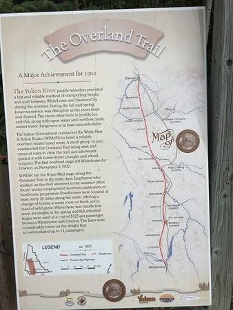 Braeburn, Canada: The Dawson Overland Trail description