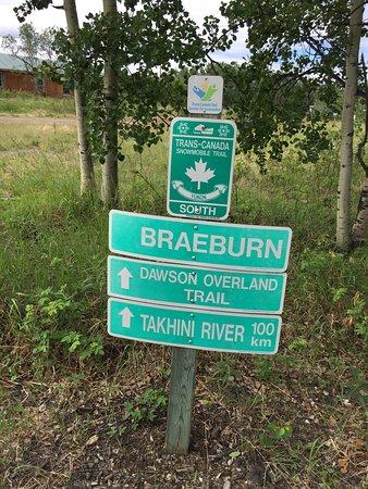Braeburn sign