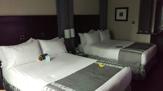 Holiday Inn Santo Domingo: Excelentes y cómodas habitaciones