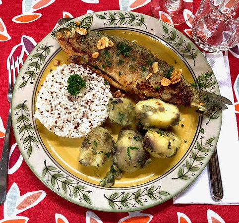 Leymebamba, Peru: Every dinner was a work of art!