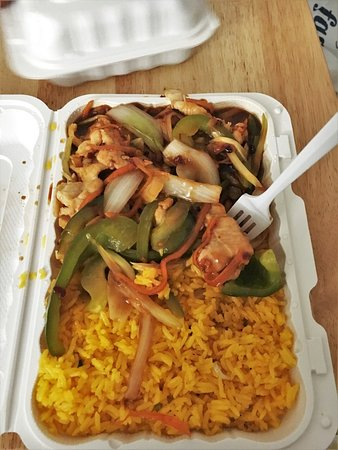 Capitol Heights, MD: Schezwan rice