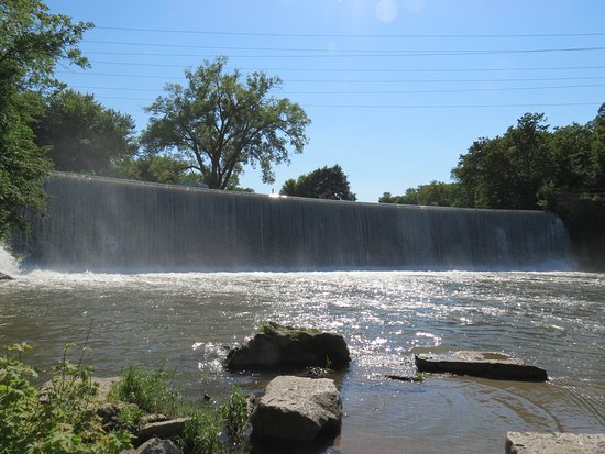 Dam-Waterfall area - Picture of Root River, Lanesboro - TripAdvisor