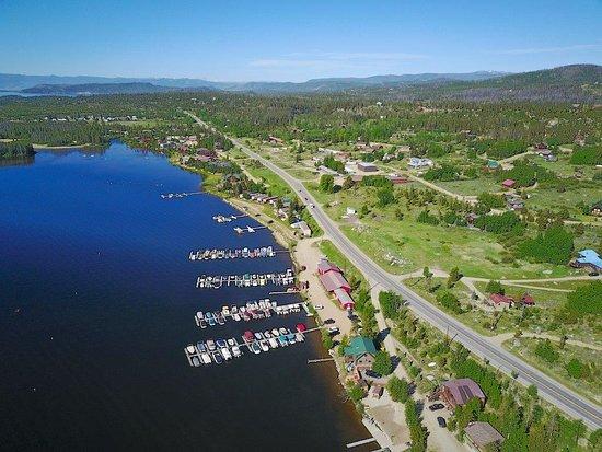 Trail Ridge Marina: Aerial View of the Marina