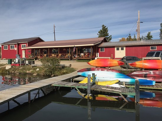 Grand Lake, CO: Updated exterior of the Marina!