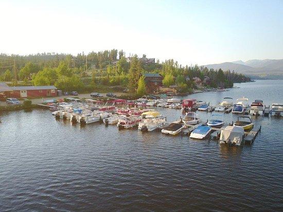 Trail Ridge Marina: Boat slips at the Marina