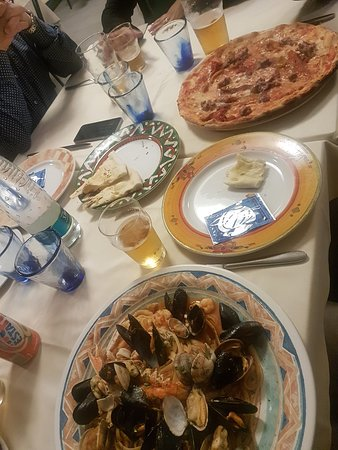 My First, best meal in Italy