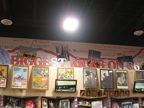 Glenrio, NM: Great 66 Memorabilia to see.